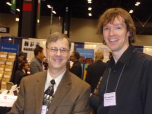 Bert Appermont und Michael Sweeney