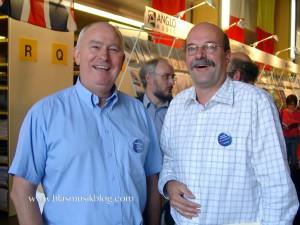 André Waignein und Michiel Oldenkamp