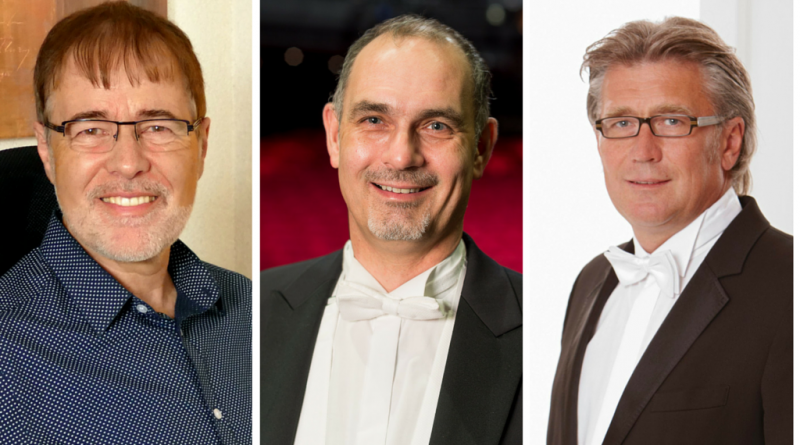 Hans-Peter Blaser, Bernhard Volk, Helmut Hubov