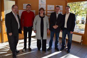 Rolf Hinrichs, Otto M. Schwarz, Alexandra Link, Rainer Gehri, Ralf Eckert