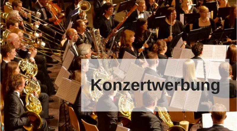 Konzertwerbung