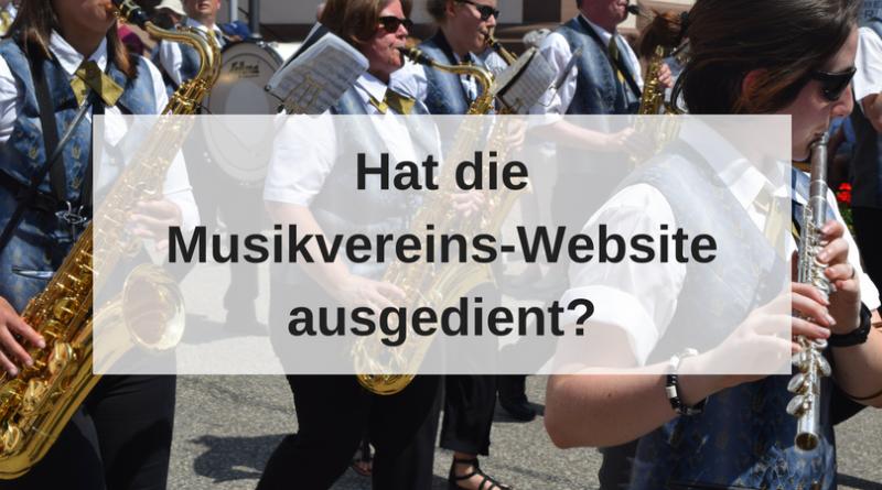 Hat die Musikvereins-Website ausgedient_