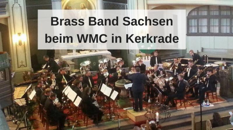 Brass Band Sachsen beim WMC in Kerkrade