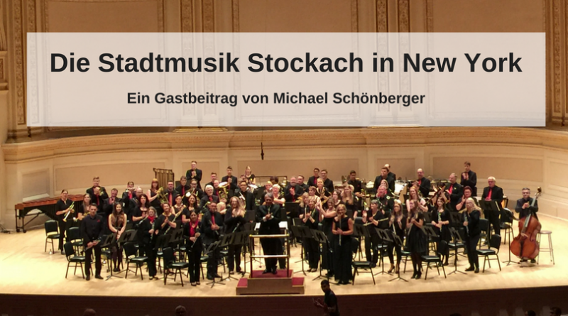 Die Stadtmusik Stock in New York