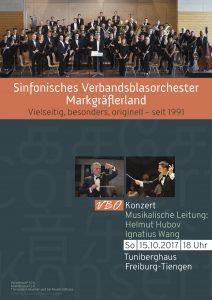 VBO-Konzert 2017 Plakat