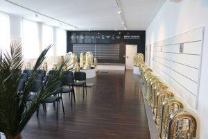 BC Tuben-Showroom