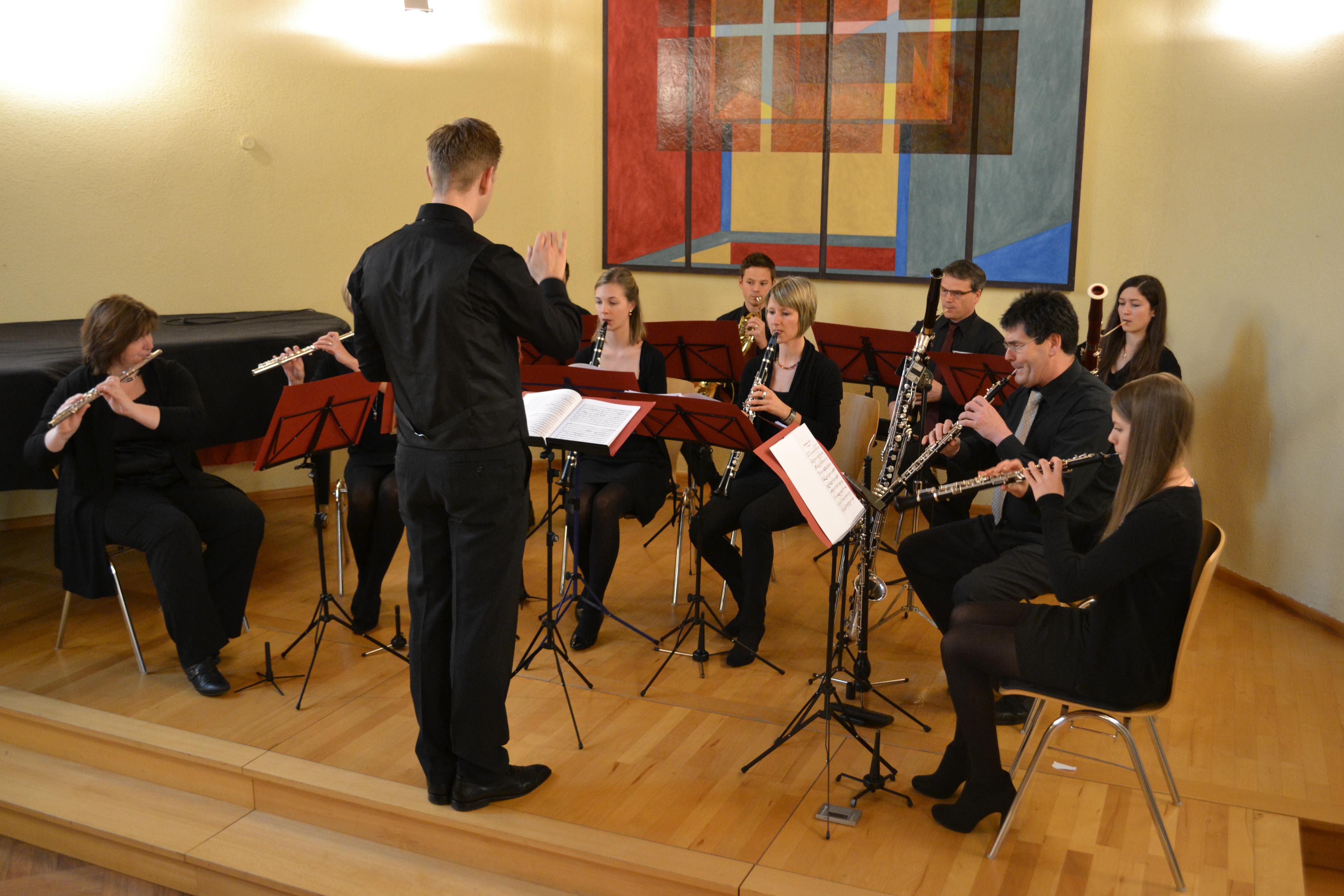 Bläserensemble 13 – Die Konzerte 2015