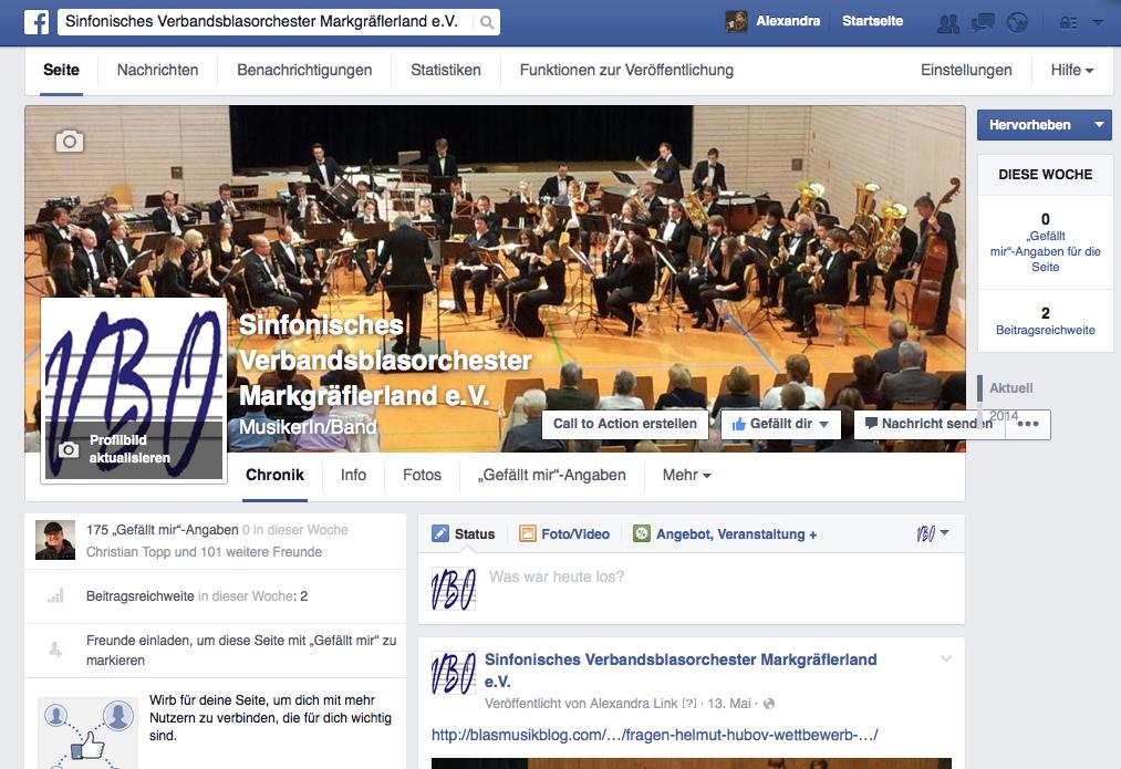 Facebook für Musikvereine – Teil 1: Wieso, weshalb, warum und was ist möglich?