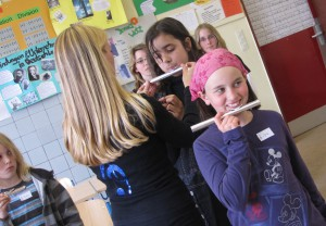 Bläserklasse - Flöten