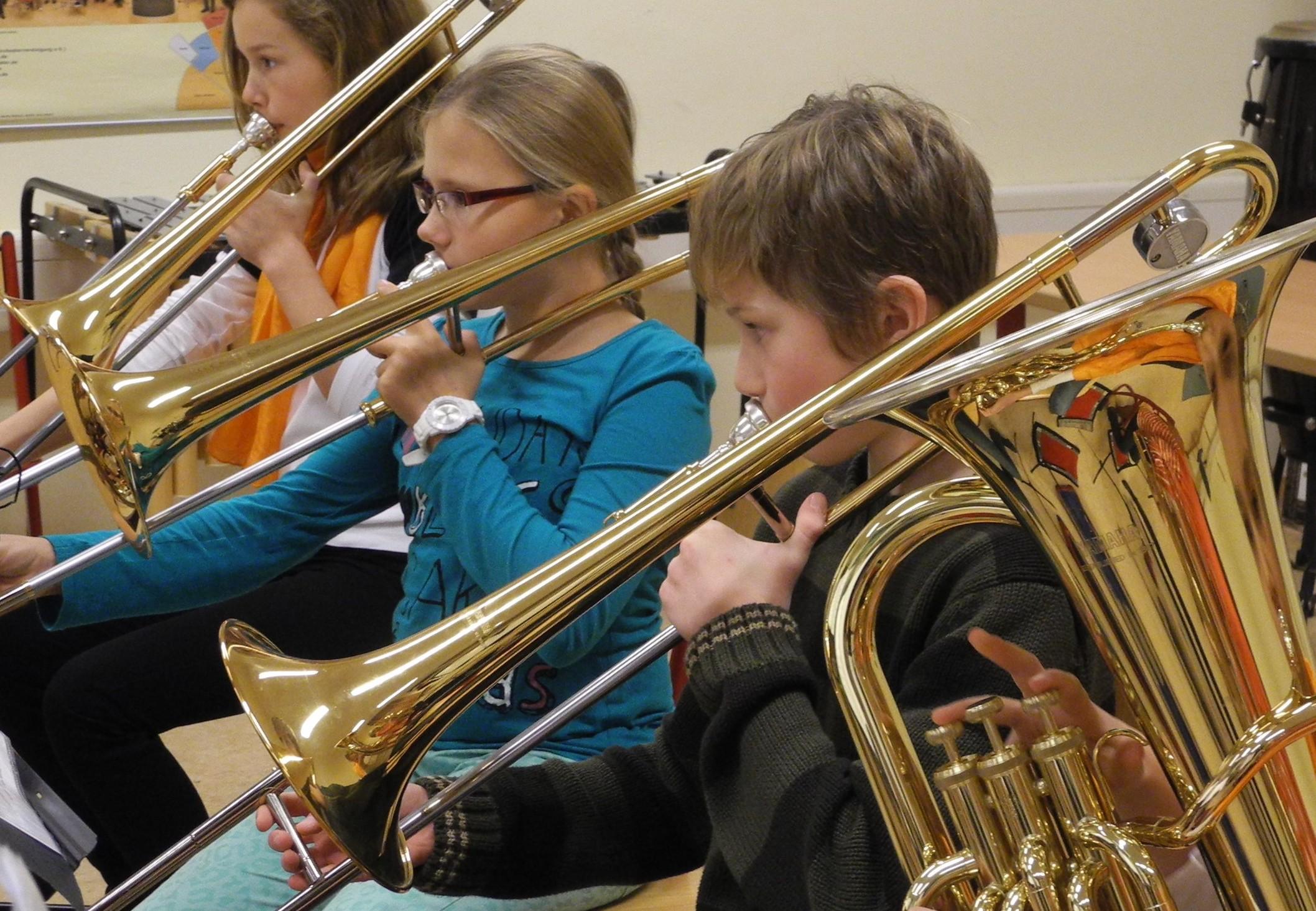 Neue Musik für Bläserklassen und Vororchester