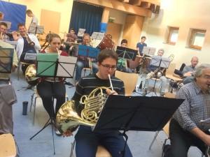Probe Sinfonisches Blasorchester Markgräflerland