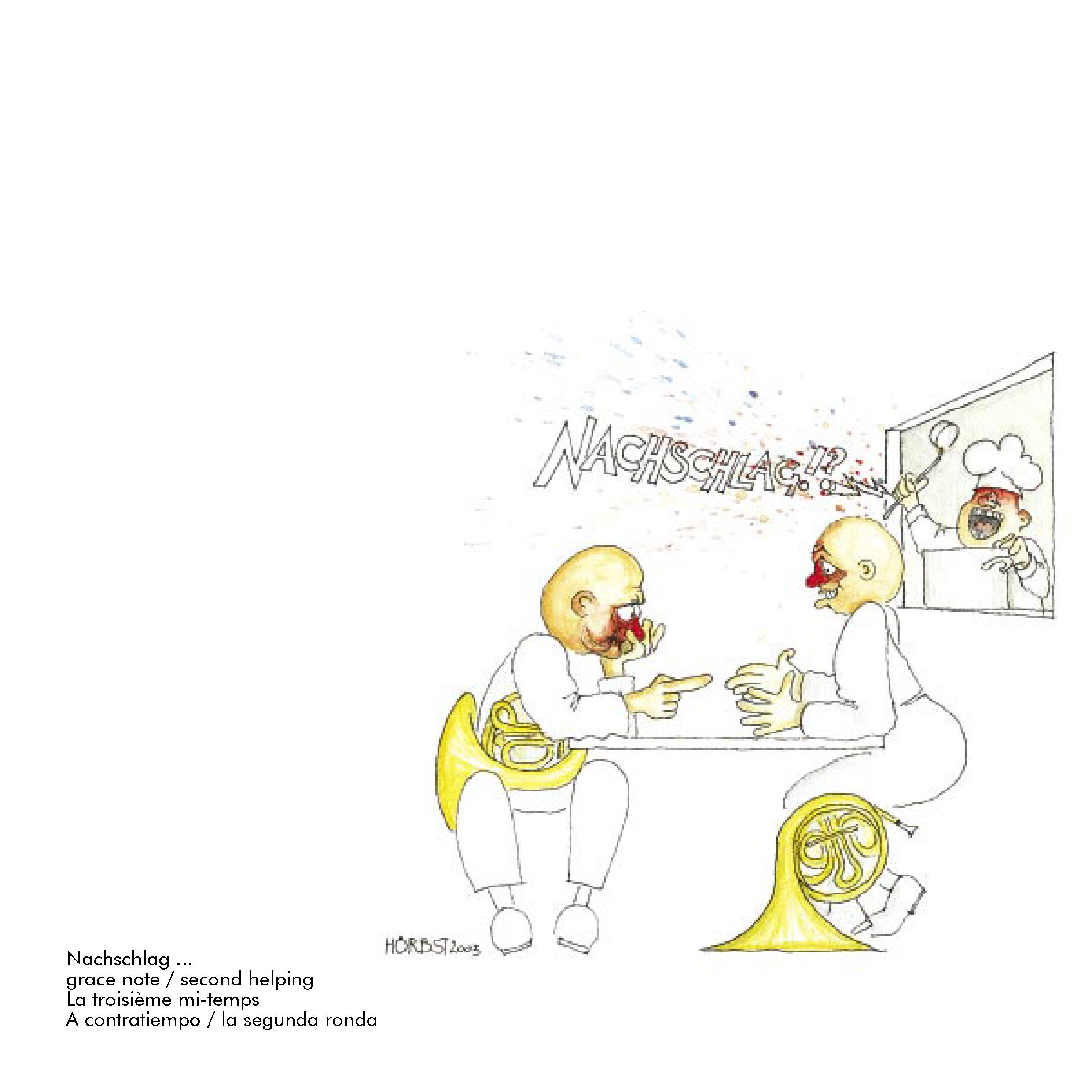 Blechbläserkarikatur aus Brassival