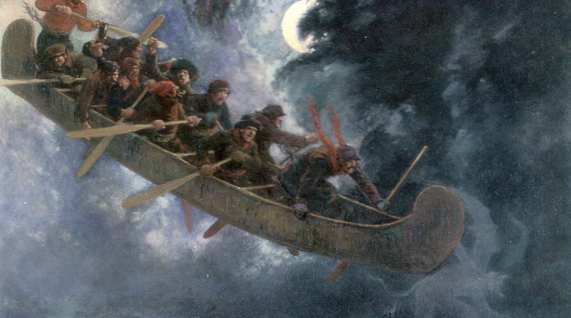 Das fliegende Kanu