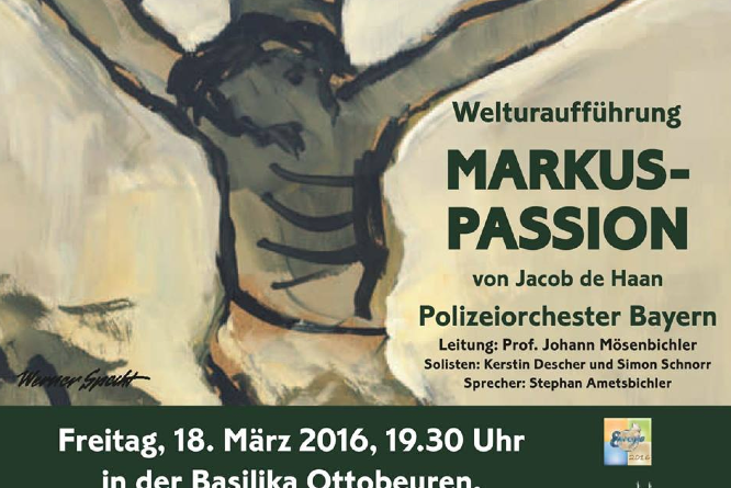 Plakat Markus-Passion