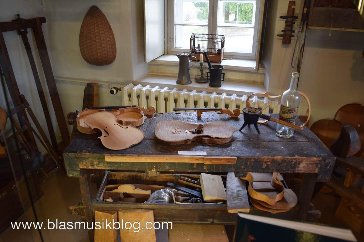 Museum - Geigenbauerwerkstatt