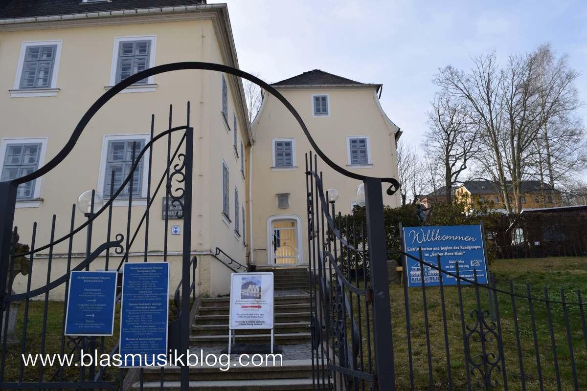 Musikinstrumentenmuseum - von außen