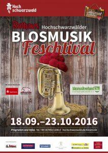Plakat Blosmusik Feschtival