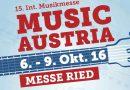 10 Gründe, warum die Music Austria in Ried meine liebste Musikmesse ist!