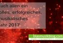 Blasmusikblog: die 10 erfolgreichsten Beiträge 2016
