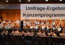 """Umfrage """"Konzertprogramme"""": das Ergebnis!"""