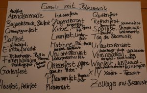Events mit Blasmusik
