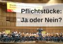 Pflichtstücke für Wettbewerbe / Wertungsspiele: Ja oder Nein?