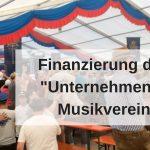 Finanzierung Musikverein