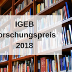 IGEB Forschungspreis 2018