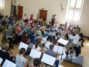 Freiburger Blasorchester Probentag