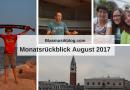 Blasmusikblog Monatsrückblick August 2017
