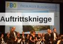 Auftrittsknigge des Freiburger Blasorchesters