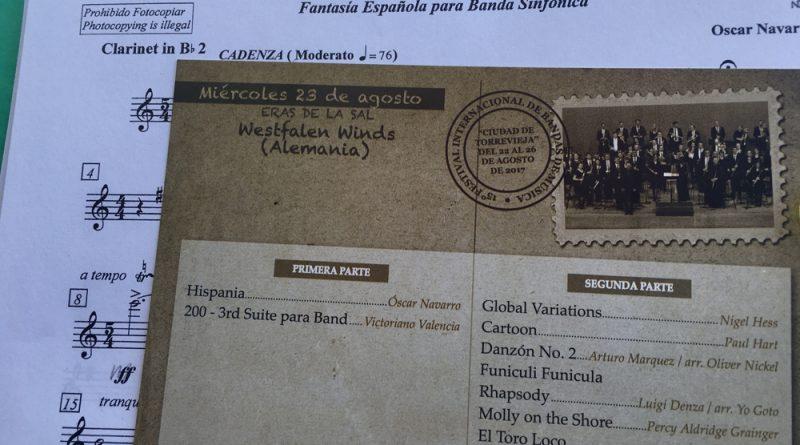 Westfalen Winds beim XV. Internacional de Bandas de Musica in Torrevieja_3 - Foto (c) Melanie Vockeroth