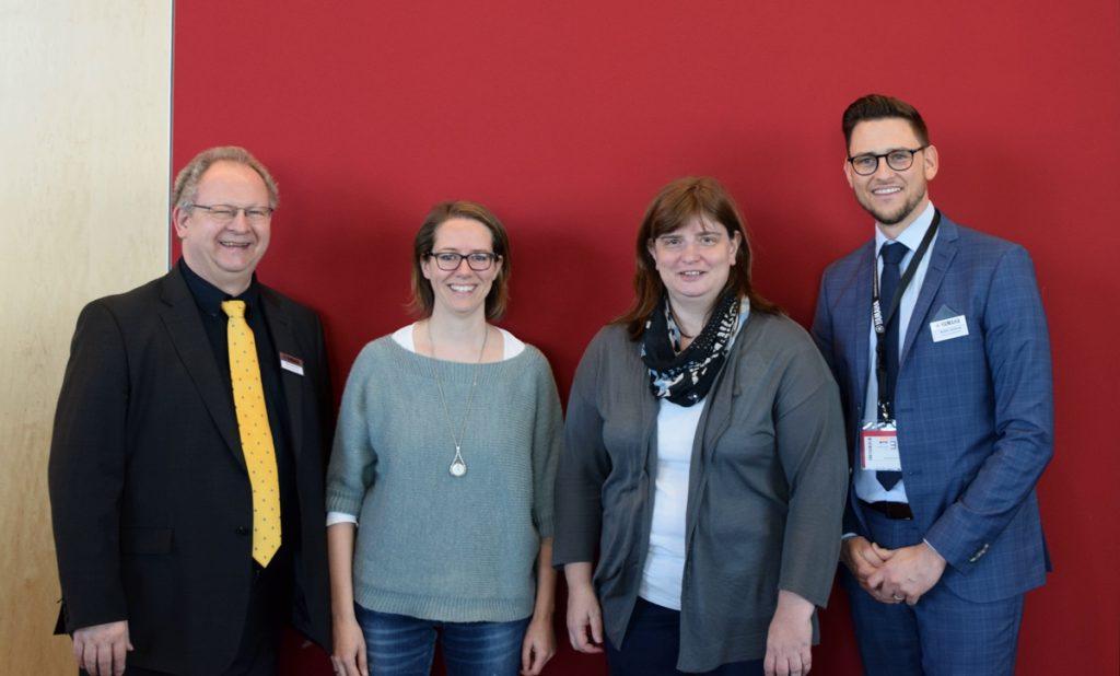 Rolf Hinrichs (Yamaha), Miriam Tressel (IBK), Alexandra Link (IBK), Robin Gaberle (Yamaha)