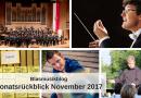 Blasmusikblog Monatsrückblick November 2017