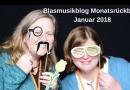 Blasmusikblog Monatsrückblick Januar 2018