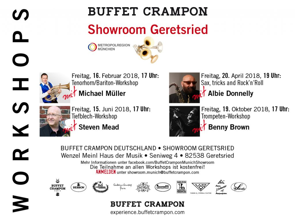 Buffet Crampon Workshops