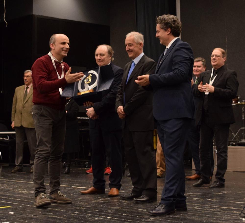 Riva 2018_Preisverleihung Sieger Gaetano Pisano