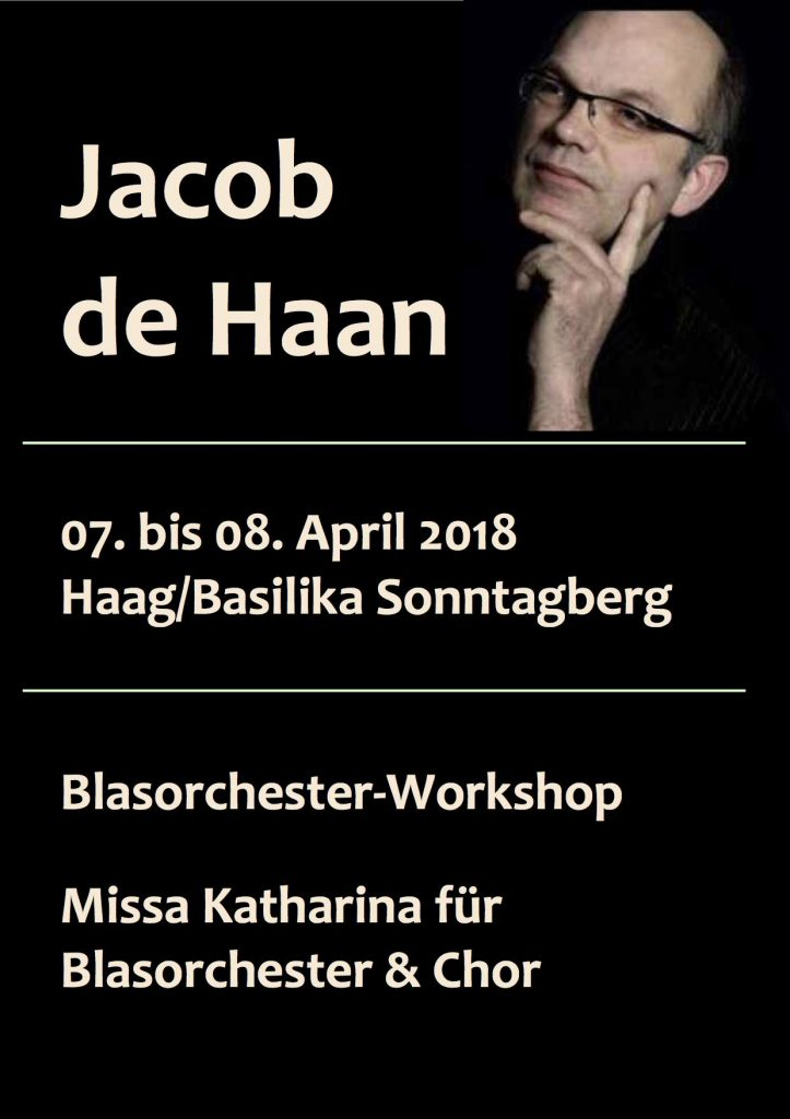 Workshop Jacob de Haan