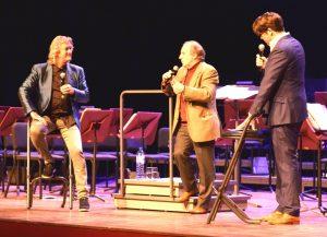 Einführungsgespräch mit Johan de Meij, Norbert Nozy, Ab Nieuwdorp