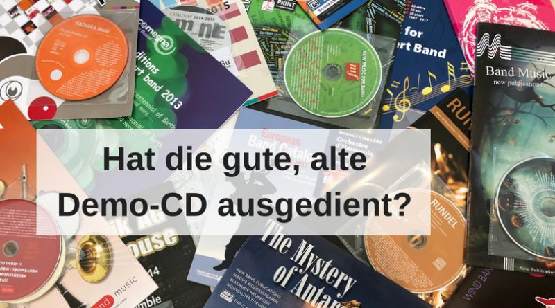 Hat die gute, alte Demo-CD ausgedient_