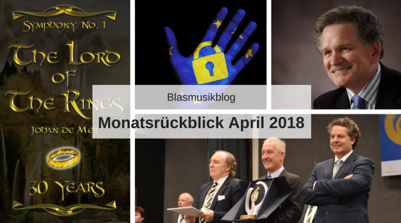 Monatsrückblick April 2018