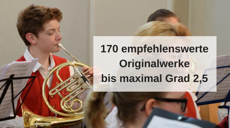 170 empfehlenswerte Originalwerke bis maximal Grad 2,5