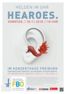 Hearoes - Konzert Freiburger Blasorchester