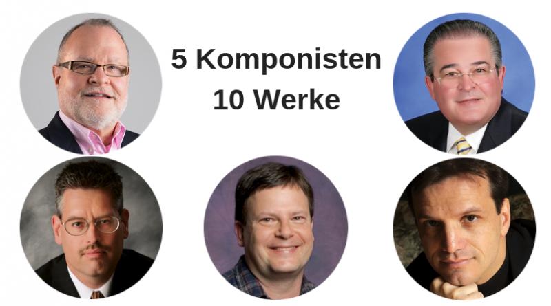 5 Komponisten 10 Werke