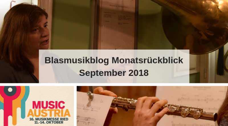 Blasmusikblog Monatsrückblick September 2018