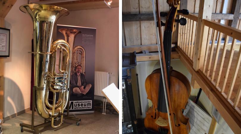 Markneukirchen Größte Tuba und Violine