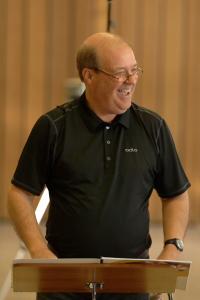 Marco Pütz beim Kreisblasorchester Ostallgäu