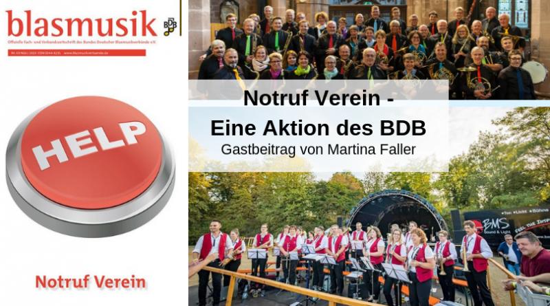 Notruf Verein - Eine Aktion des BDB