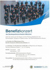 Plakat Benefizkonzert Freiburg 2019-2
