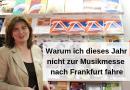 Warum ich dieses Jahr nicht zur Musikmesse nach Frankfurt fahre